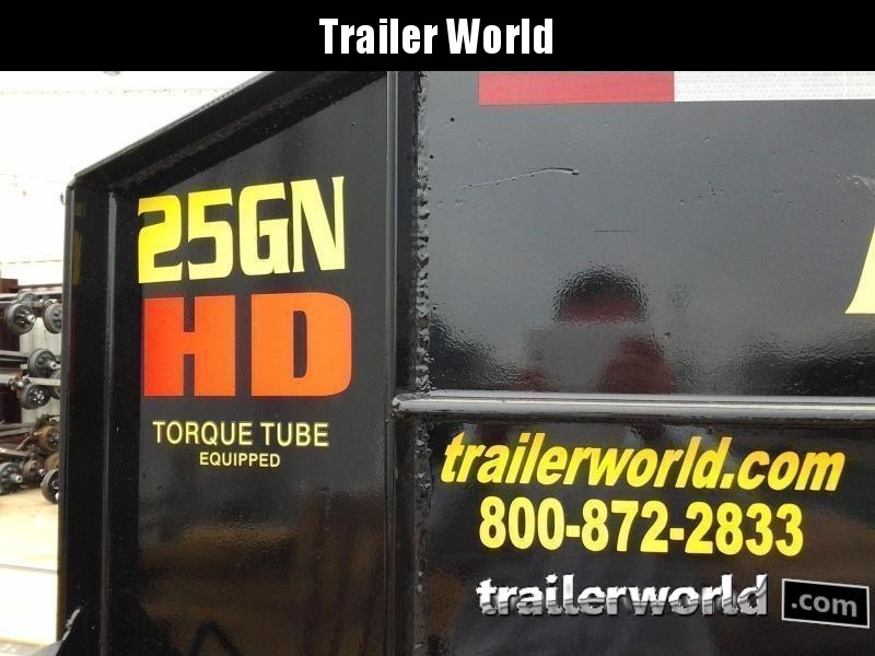 2019 Big Tex 25GN-25' + 5' Gooseneck Trailer 25900 GVWR MEGA Ramps