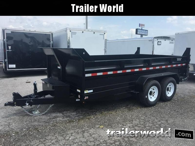 2018 Sure-Trac 7 x 14 Dump Trailer w Ramps 14k GVWR