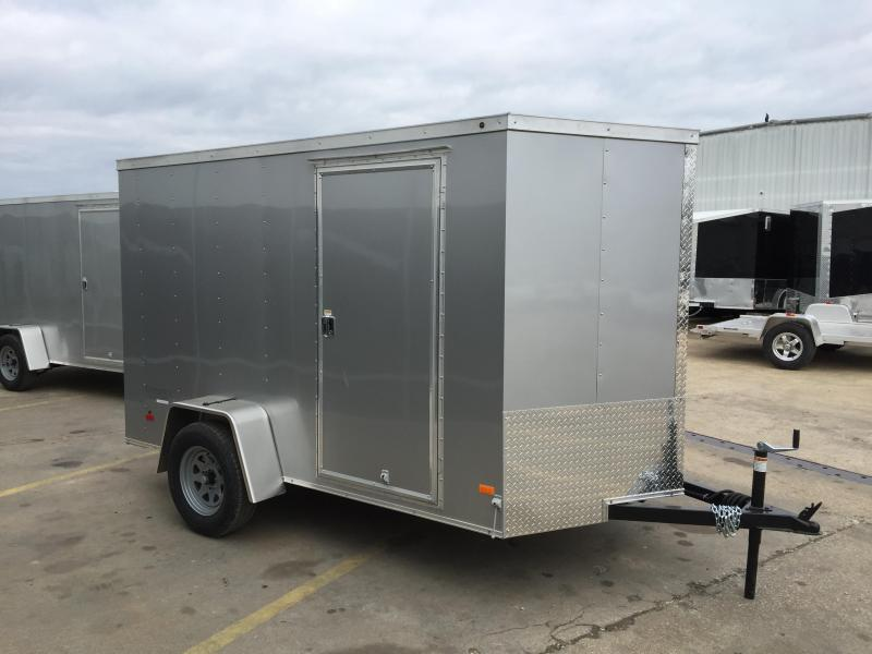 2016 Haulmark Thirfty 6' x 10' V Enclosed Cargo Trailer
