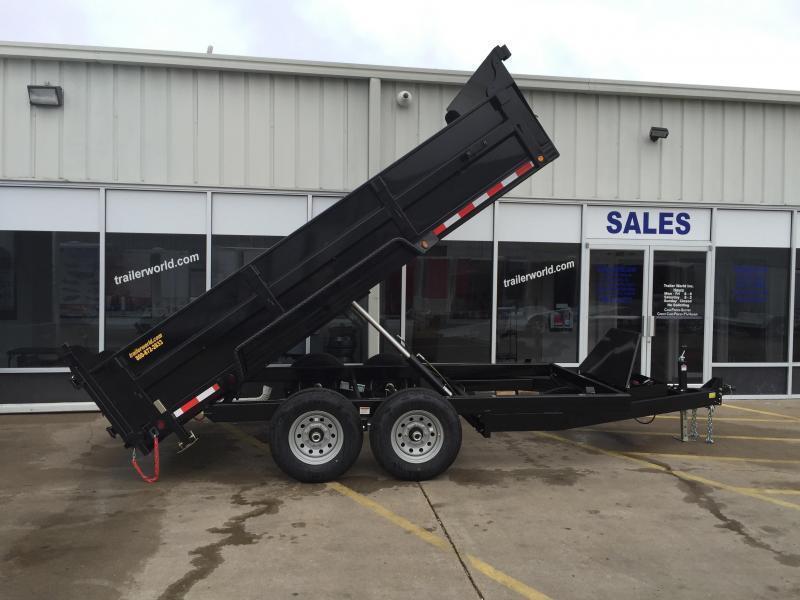 2017 Heavy Hauler 12' Dump Trailer 14k GVWR