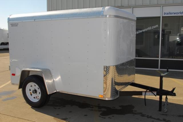 2014 Lark 5x8 Enclosed Cargo Trailer