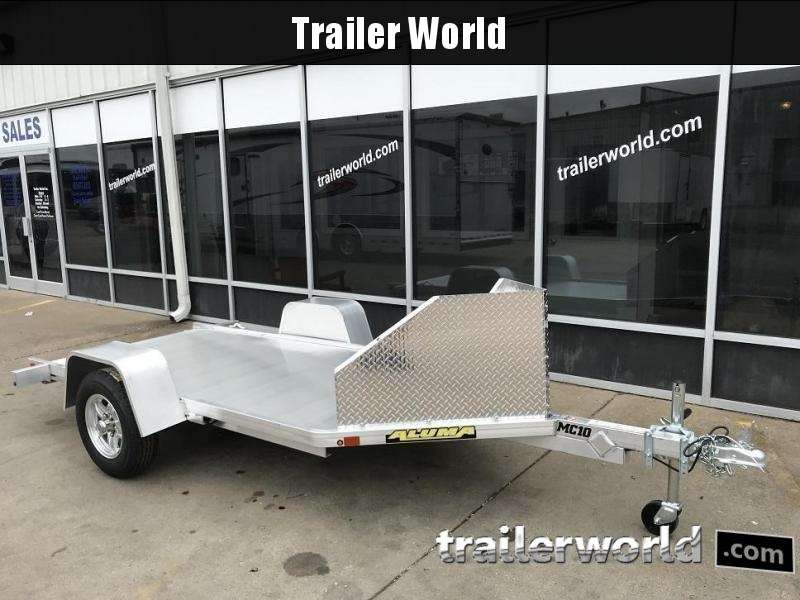 2019 Aluma MC10 Aluminum 1 Place Motorcycle Trailer