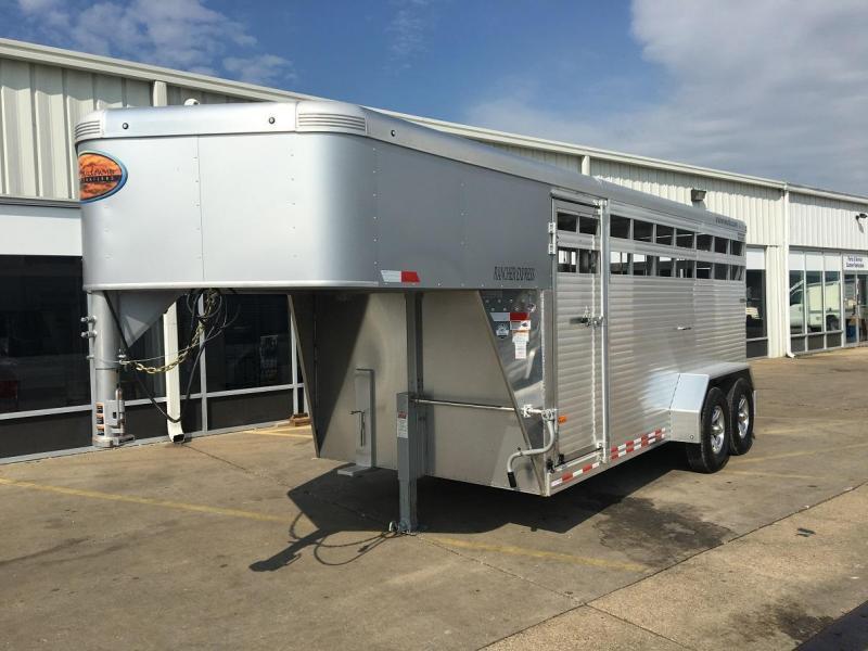 2017 Sundowner 16' Rancher Exrpess Livestock Trailer