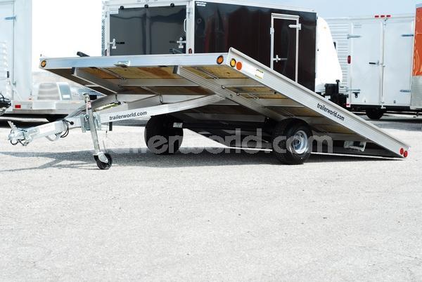 2011 Newman 10'  x 8.5' Aluminum ATV Tilt Trailer