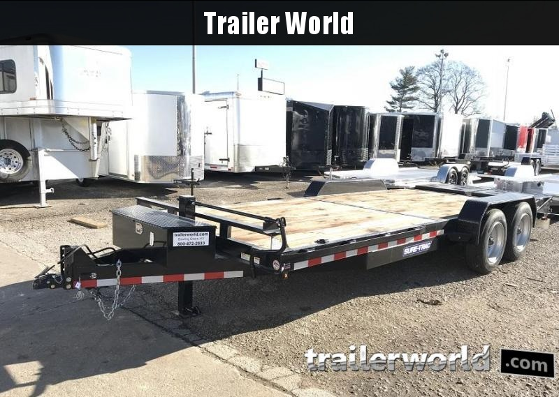 2018 Sure-Trac 17+3 Equipment Trailer 14K GVWR 17.5 Tires