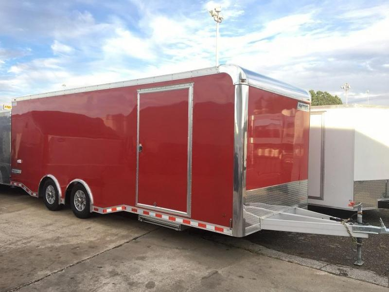 2017 Haulmark Aluminum ALX 24 Car / Racing Trailer