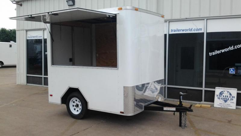 2012 Lark 6' x 8' x 7' Ticket / Vending / Concession Trailer
