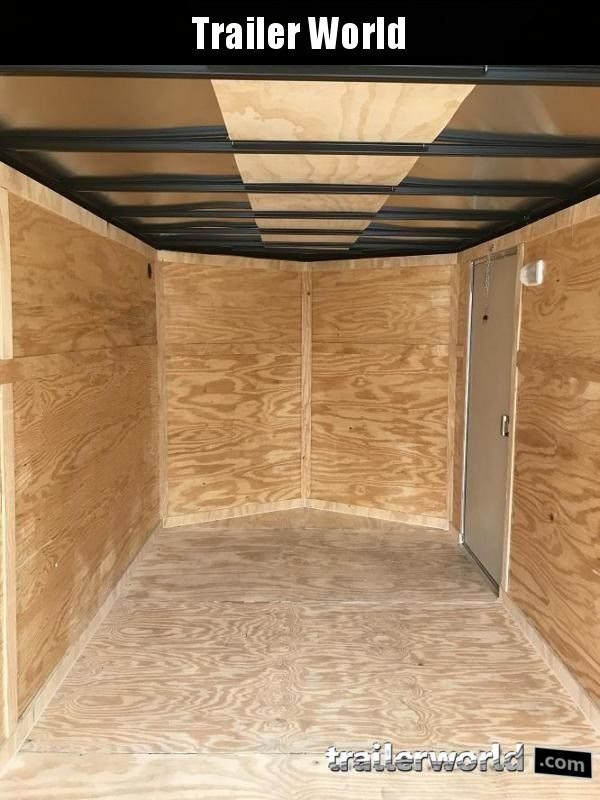 2019 CW 7' x 16' x 6' Vnose Enclosed Cargo Trailer