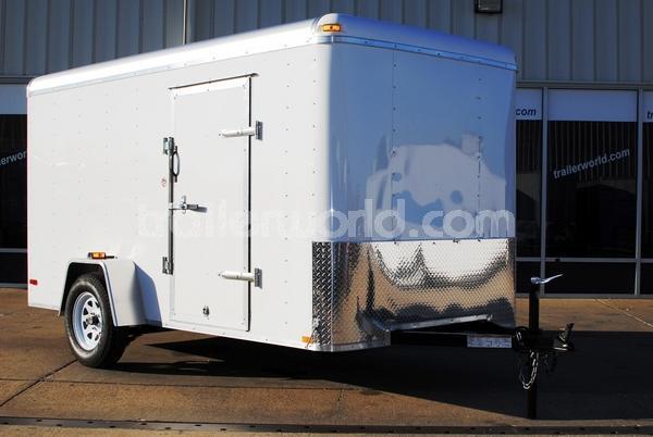 2017 LU  6' x 12' x 6'  Enclosed Cargo Double Door Trailer