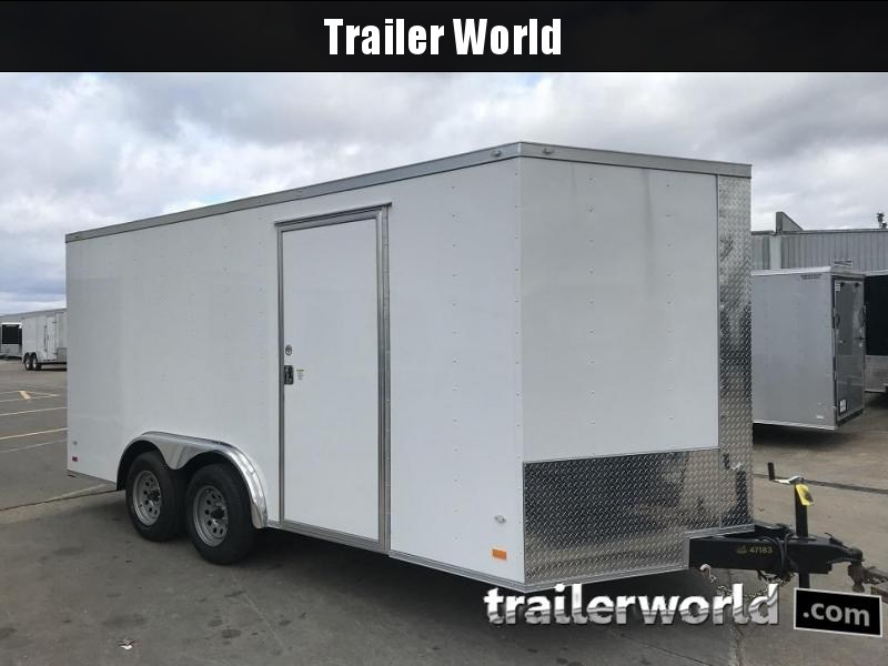2019 CW 8' x 16' x 6.5' Vnose Enclosed Cargo Trailer