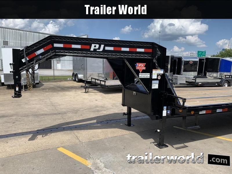 2019 PJ Trailers 40' Gooseneck Equipment Trailer 25k GVWR