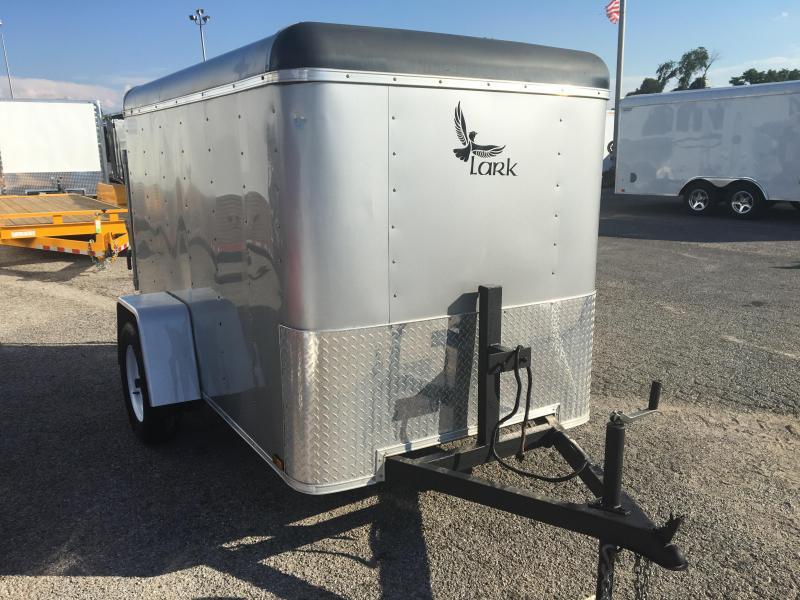 2012 Lark 5' x 8'  Enclosed Cargo Trailer Ramp Door
