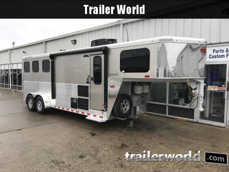 2018 Sundowner Santa Fe 3 Horse LQ Trailer