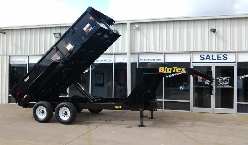 2017 Big Tex Trailers 14GX-14