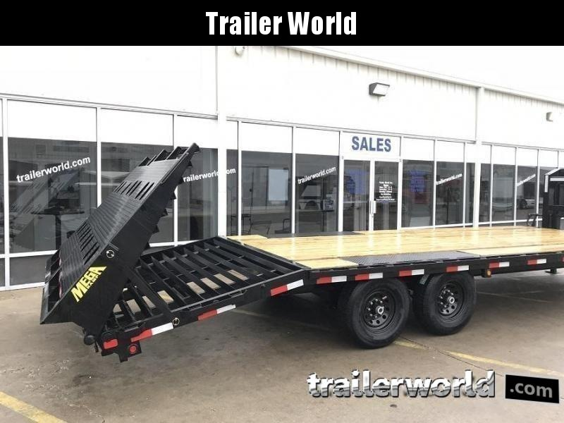2019 Big Tex Gooseneck 14GN-20' + 5' Flatbed MEGA Ramps Equipment Trailer