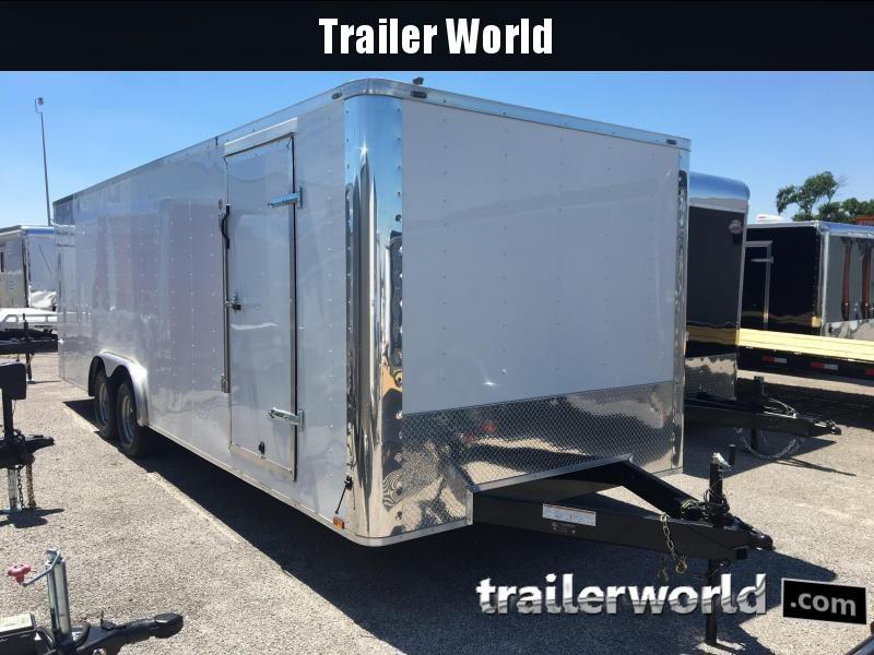 2017 Lark 24' Enclosed Car Hauler Trailer 10k GVWR