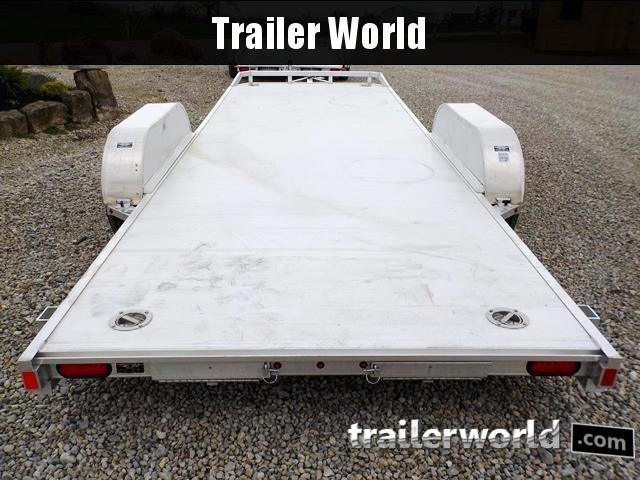 2019 Aluma 8220H Aluminum Open Flatbed Trailer