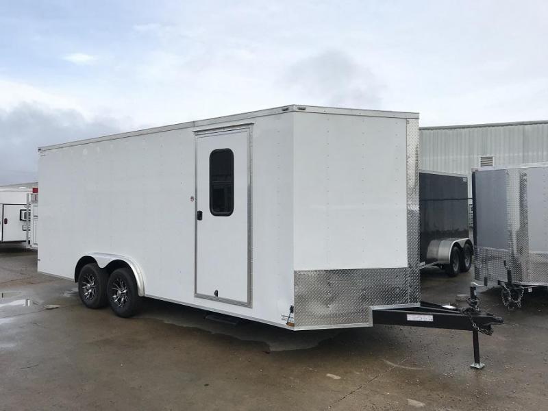 2018 Lark 8 x 20 Vnose Cargo / ATV Trailer