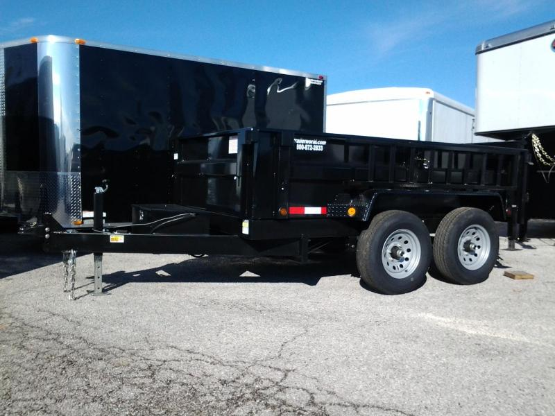 2015 Quality Trailers Heavy Hauler 6' x 10' Dump 10k GVWR Dump Trailer
