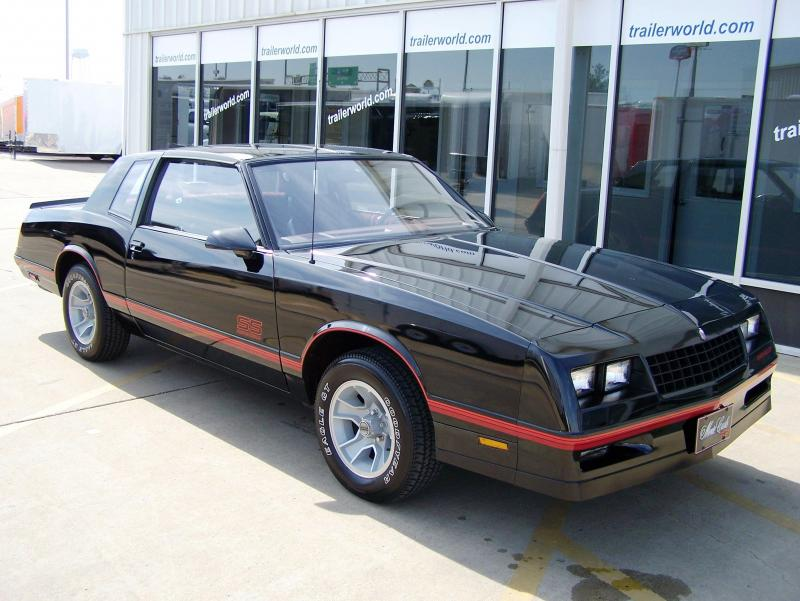 1987 Chevrolet Monte Carlo SS Only 2k Actual Miles!!