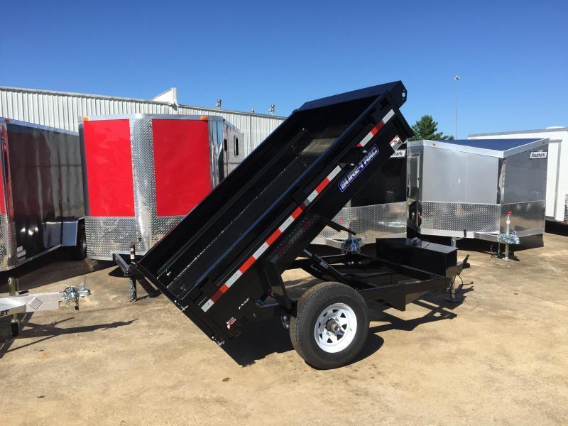 2016 Sure-Trac 5' x 8' Single Axle Dump Trailer 5k GVWR
