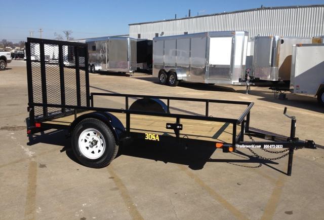 2015 Big Tex 30SA-10' x 5' Utility Trailer