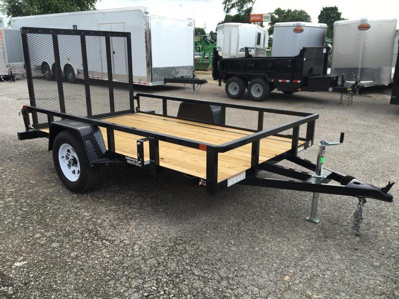 2019 Sure-Trac 6 X 10 Tube Top Utility