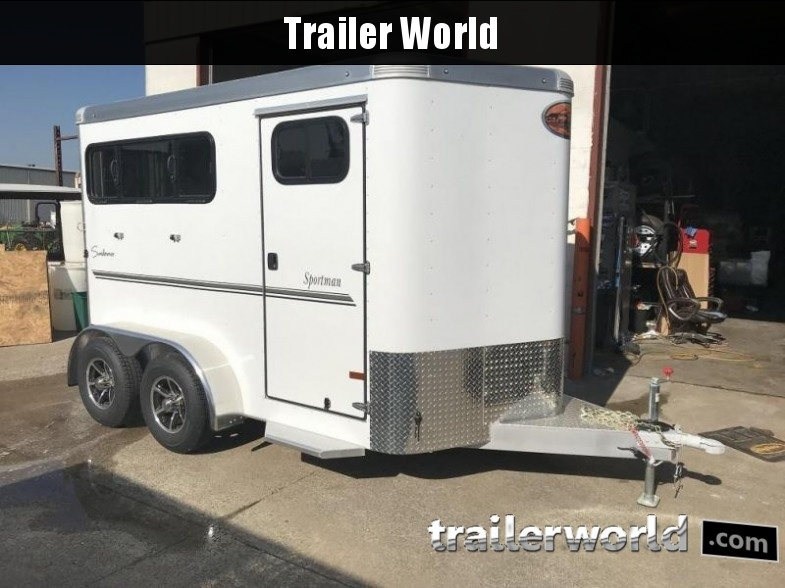 2018 Sundowner Sportman 2 Horse Bumper Pull Trailer