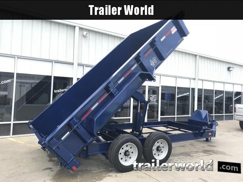 2018 Diamond C 24LPD 14' Dump Trailer Low Profile Commercial Grade