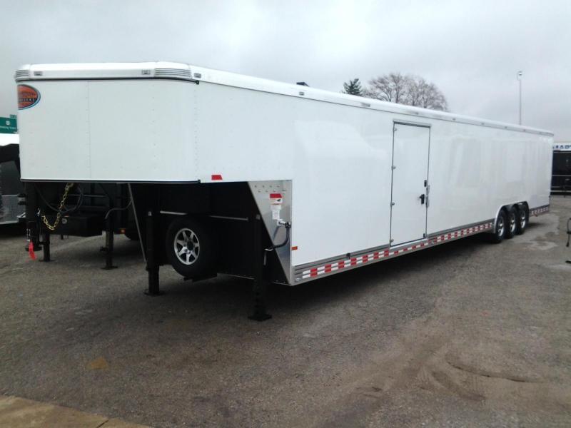 2015 Sundowner 48' 2 Car Aluminum Enclosed Trailer