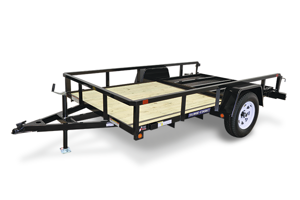 2016 Sure-Trac 6' x 10' Single Axle Utility Trailer Spring Assist Gate