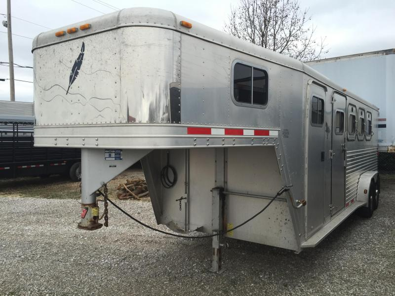 2001 Featherlite 4 Horse Trailer