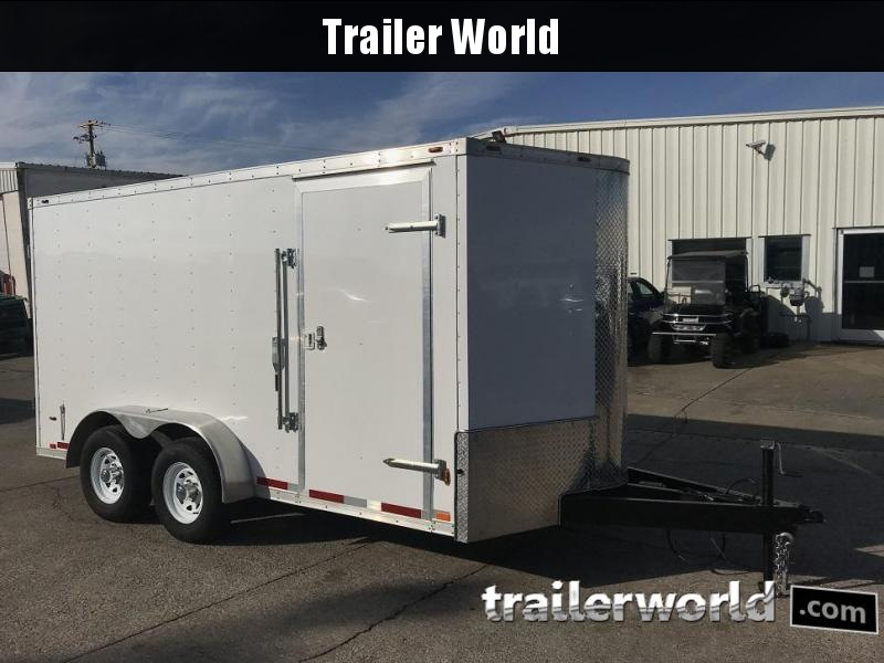 2017 Atlas 7' x 14' x 6.3' Enclosed Cargo Trailer 10k GVWR