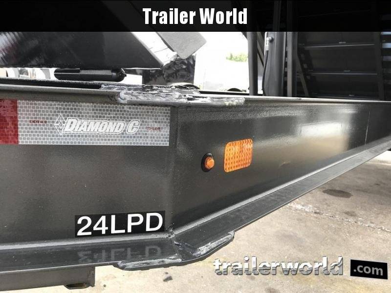 2019 Diamond C LPD 14' Dump Trailer Low Profile Commercial Grade