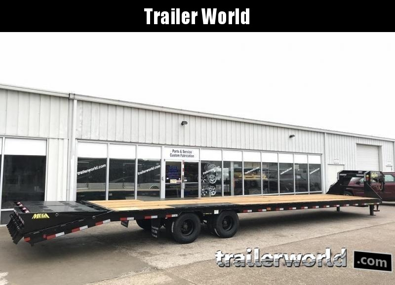 2019 Big Tex 25GN-35' + 5' Gooseneck Trailer 25900 GVWR MEGA Ramps