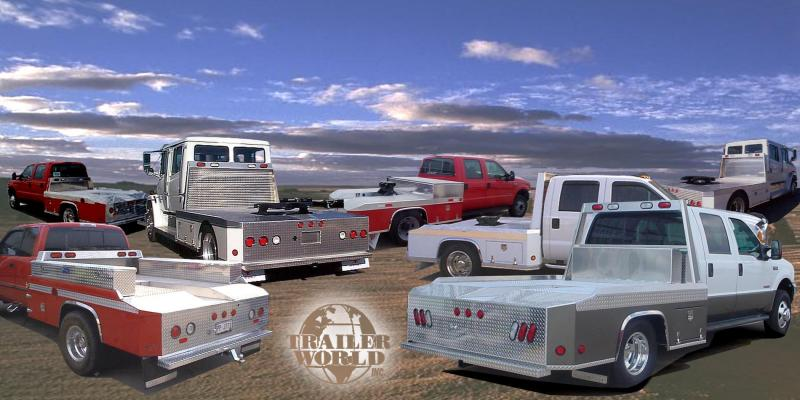 2015 Trailer World Aluminum Truckbeds