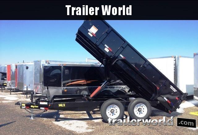 2017 Big Tex Trailers 14LX-14