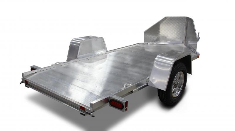 2015 Aluma MC10 Single Bike Aluminum Utility Trailer
