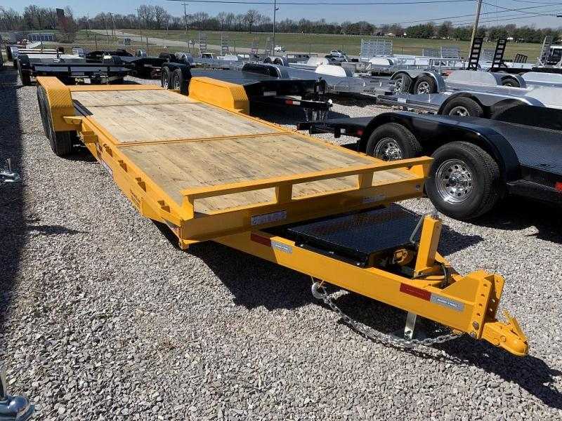 2019 Sure-Trac 16 + 6 Tilt Bed Equipment Trailer 14K GVWR