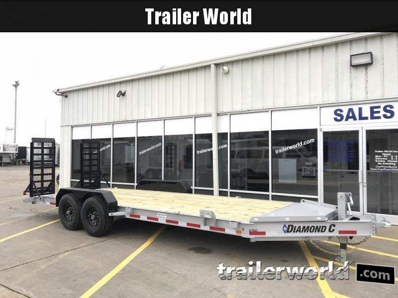 2019 Diamond C 19LPX 20' Equipment Trailer