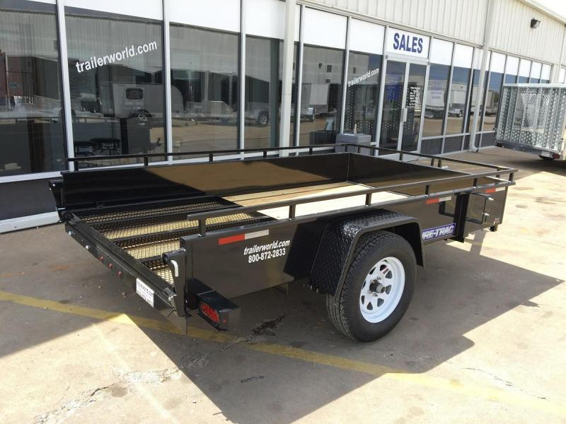 2016 Sure-Trac 6' x 10' Steel High Side Utility Trailer
