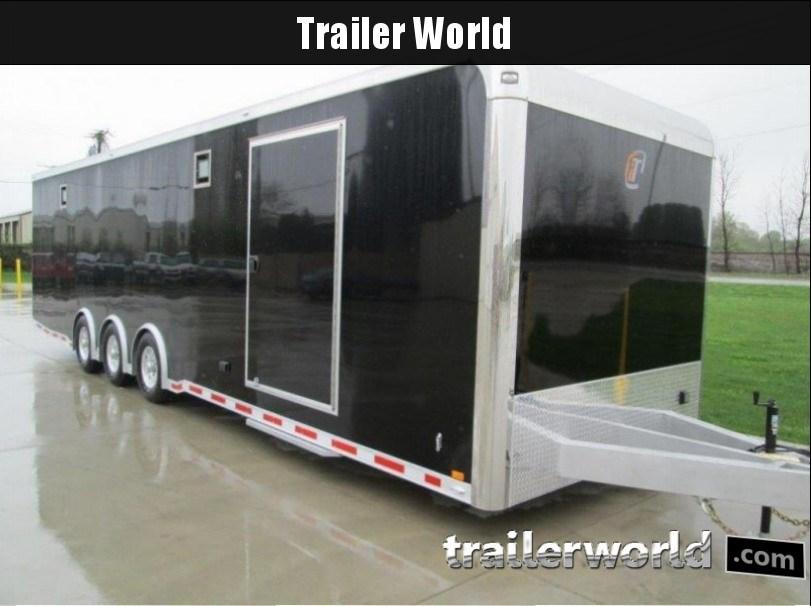 **STOLEN** 2014 inTech  iCon 32' All Aluminum Racing Trailer