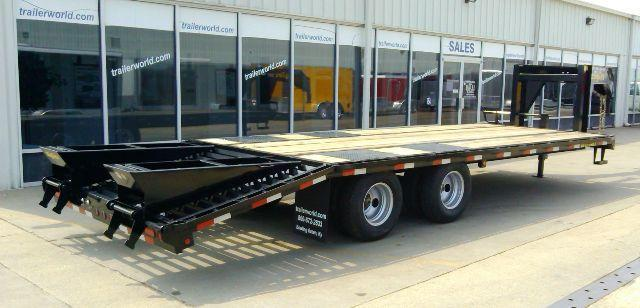 2014 Big Tex Trailers 20GN 20' + 5' Equipment Trailers