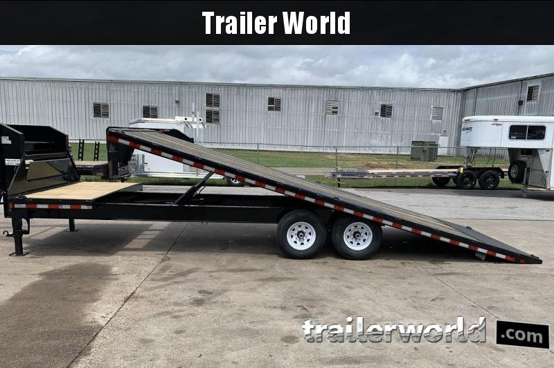 2019 Sure-Trac 8.5' x 22'+4' Deckover Power Tilt Gooseneck 15K GVWR Trailer