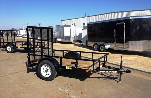 2014 Big Tex Trailers 30SA 5' x 8' Utility Trailer