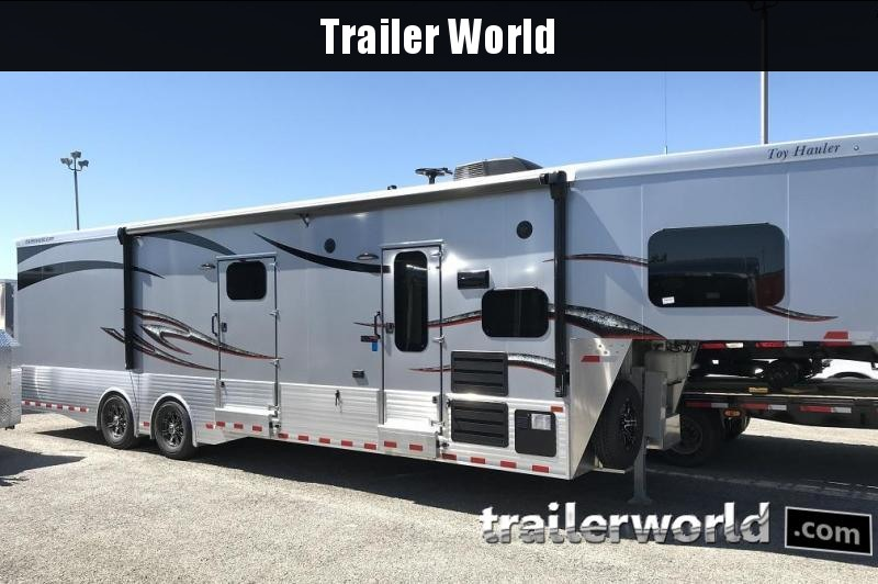 2019 Sundowner Aluminum 1786GM 38' Pro Series Toy Hauler Trailer