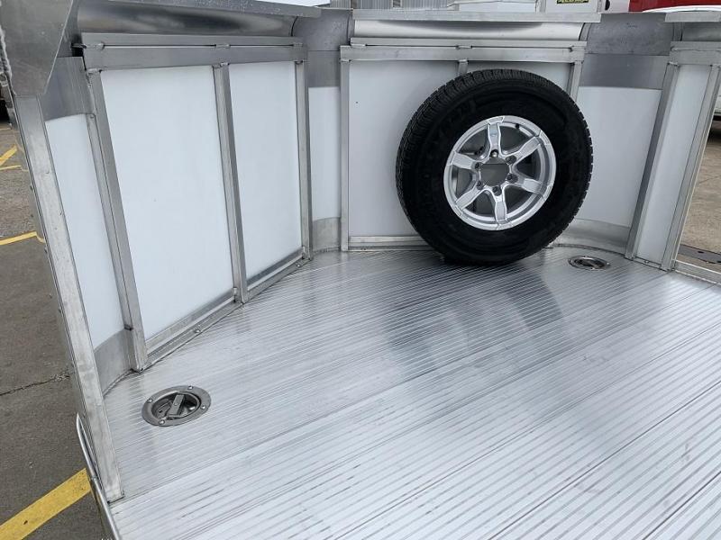 2019 Sundowner 20' Aluminum Tapered Front Open Car Hauler Trailer