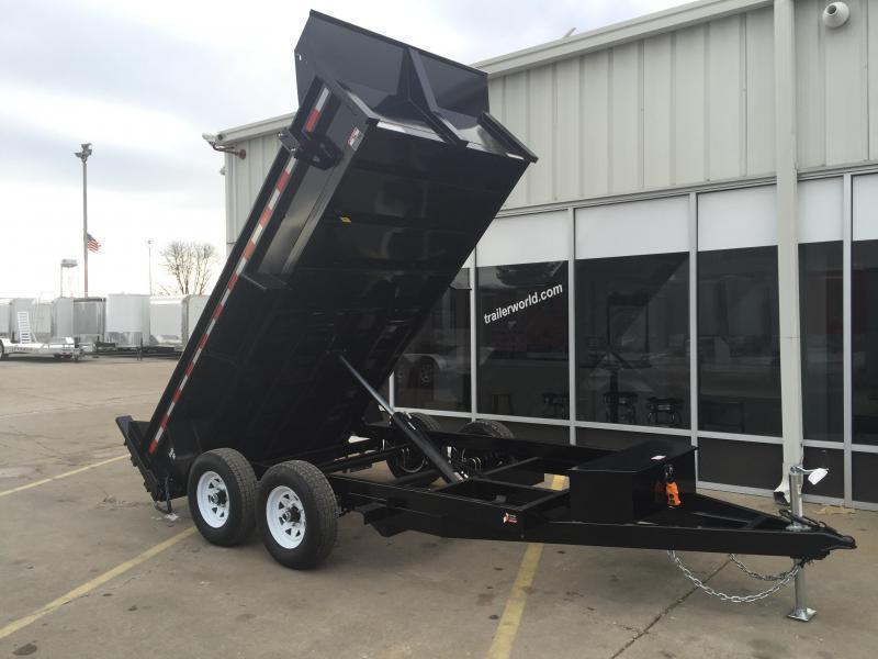 2016 Sure-Trac 6' x 12'  Dump Trailer w/ Ramps