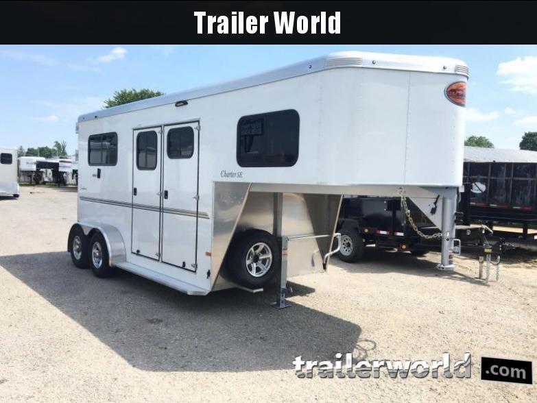 2018 Sundowner Charter TR SE Gooseneck 2 Horse Trailer