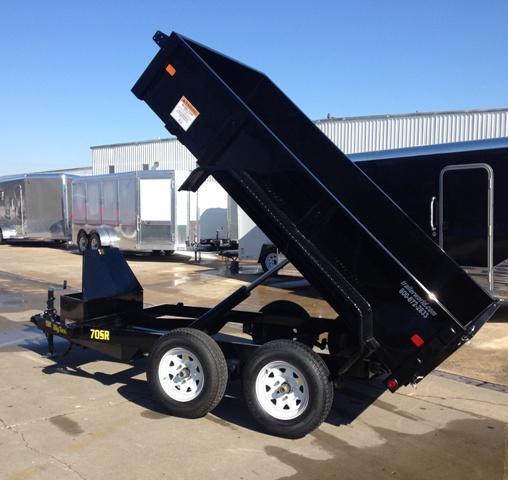 2014 Big Tex Trailers 70SR 10' x 5'  Dump Trailer 7K GVWR